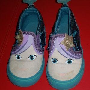 Vans slip on Mermaid shoes